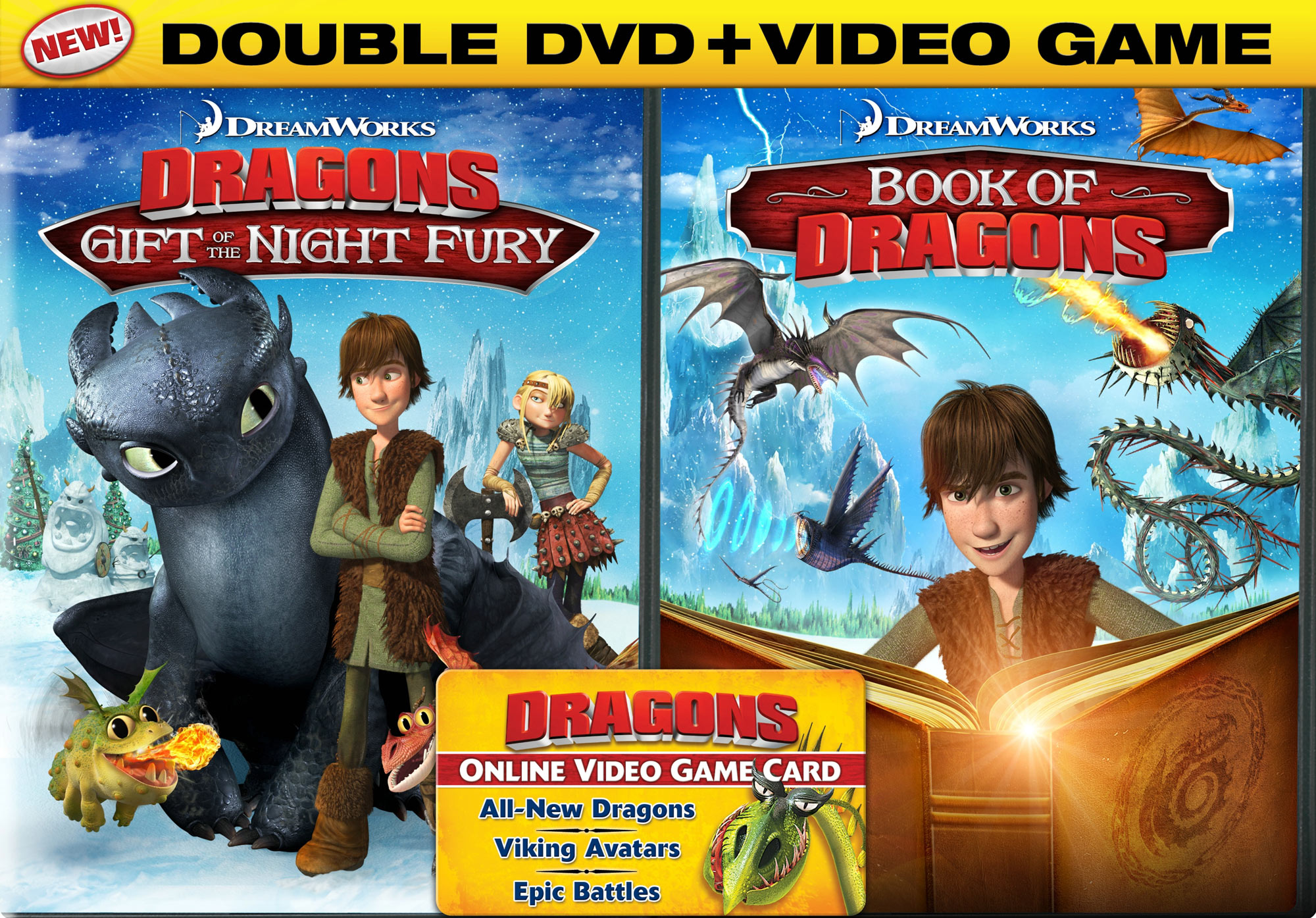 Dreamworks Dragons Drawings Dreamworks Dragons Double Dvd