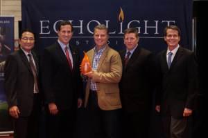 EchoLight Santorum