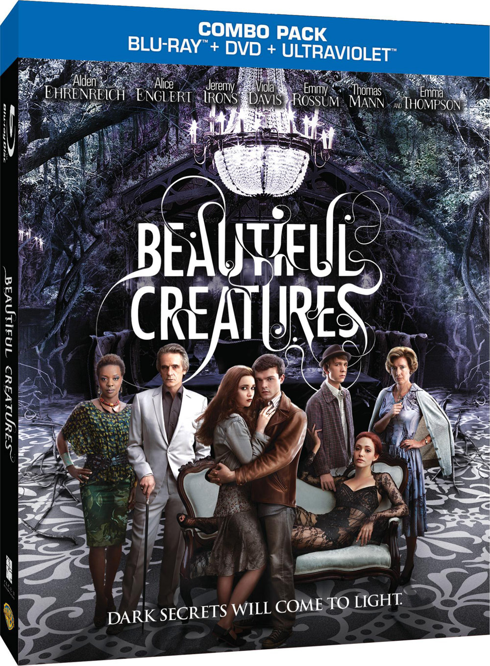 �beautiful creatures� on bluray combo pack dvd and