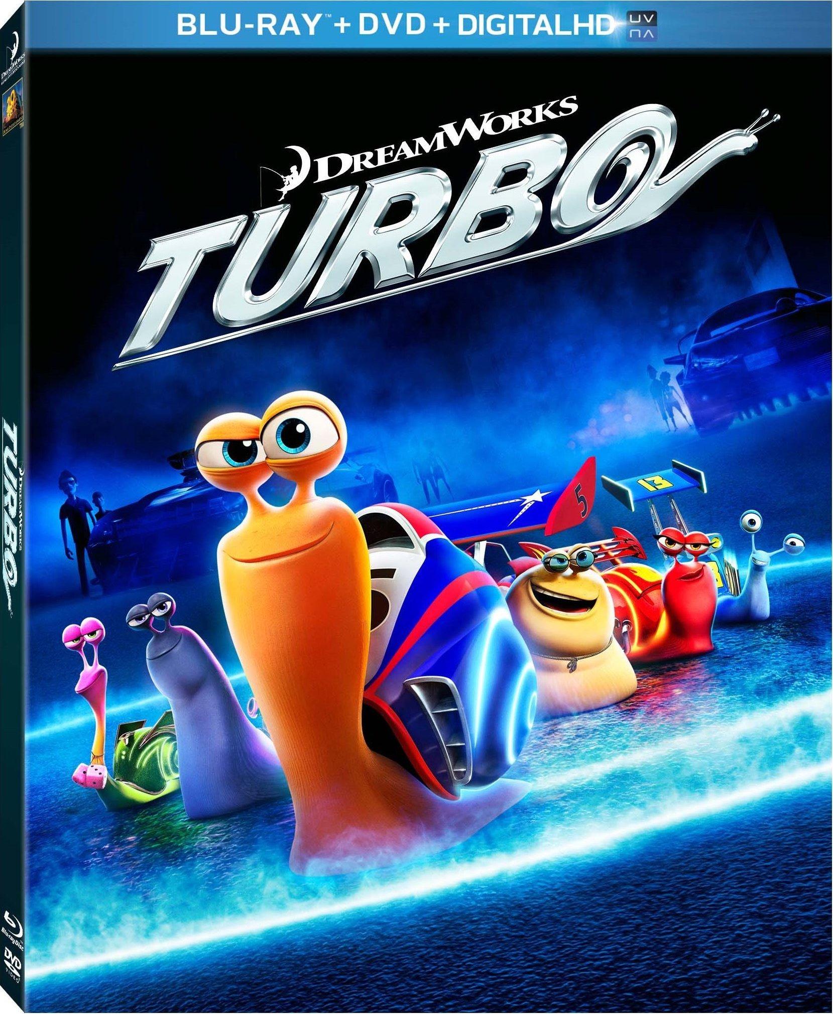 "Enjoy all the family fun of ""Turbo"" on Blu-ray November 12 ..."
