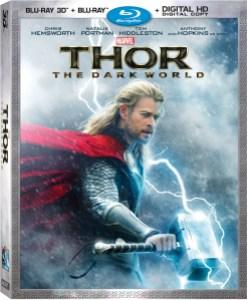 Thor The Dark World 3D Combo Box Art