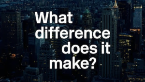 What Difference Does It Make