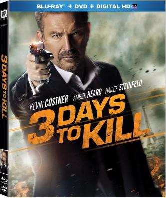 3 days to kill blu