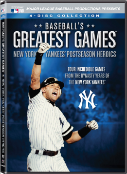 Baseball's Greatest Games New York Yankees Postseason Heroics