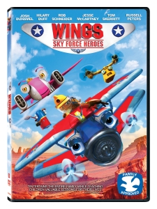 WINGS 2 3d DVD