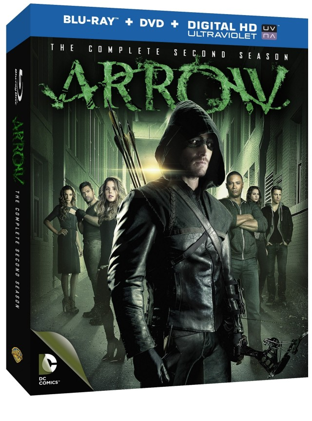 ¡Películas y series de SuperHeroes en DVD! Arrow-season-2