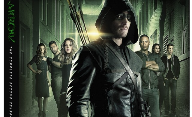 ¡Películas y series de SuperHeroes en DVD! Arrow-season-2