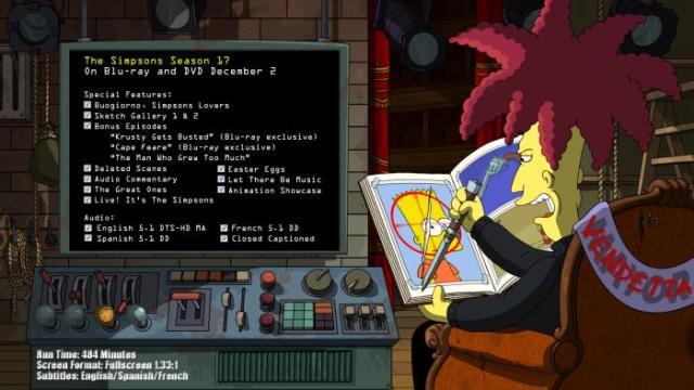 The Simpsons Season 17 On Blu Ray And Dvd December 2 Justlovemovies Com