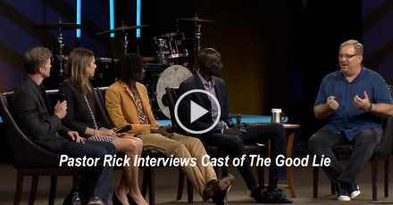 the good lie rick warren