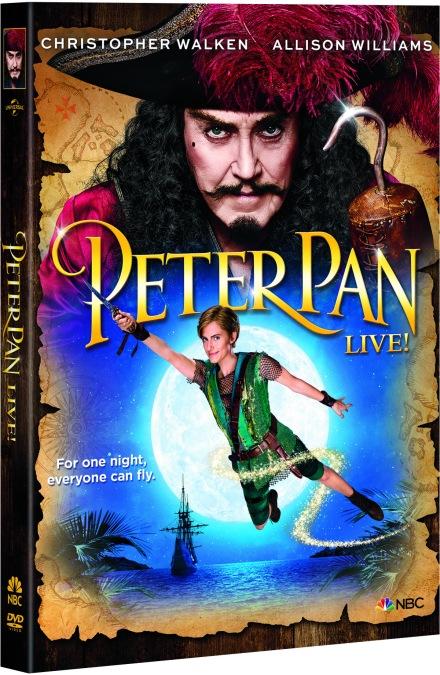 Peter Pan Live - Pack Shot 3D