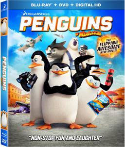 Penguins of Madagascar blu