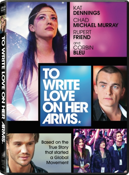 to write love on her arms dvd