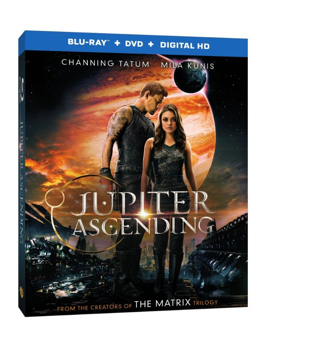 Jupiter Ascending Blu-ray Box Art