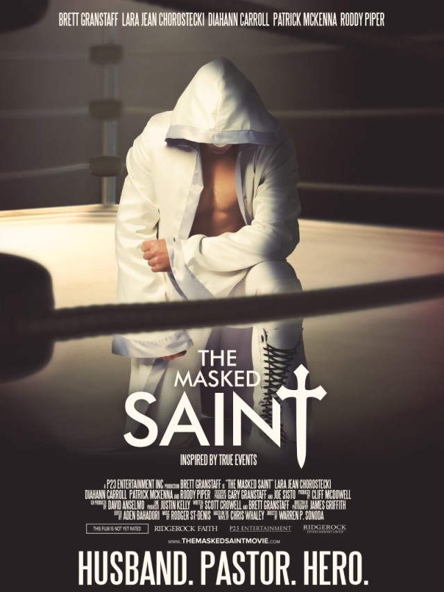 The Masked Saint Poster - biasesinc-mp3