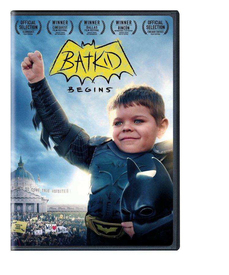 Batkid Begins 2D Box Art