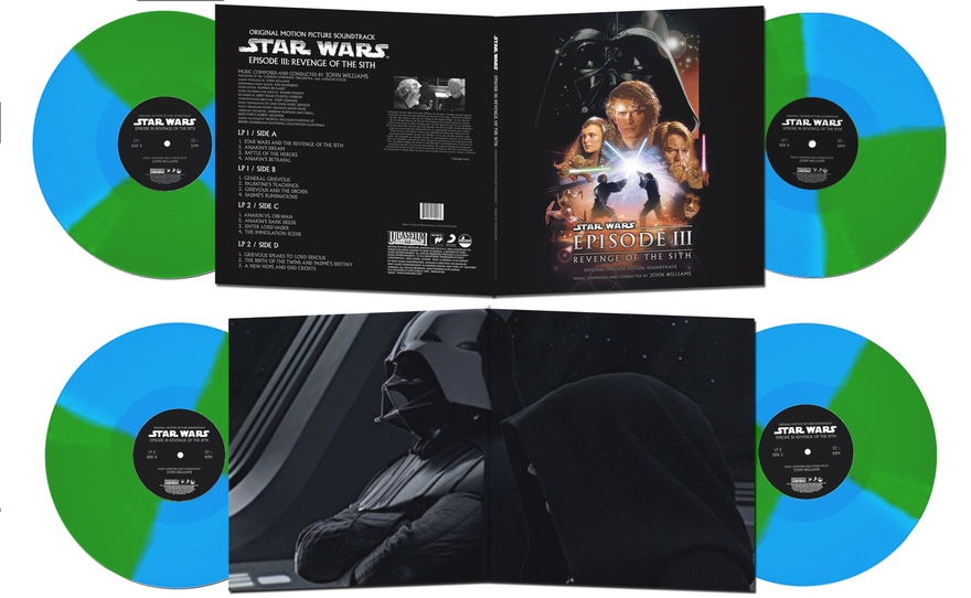 I Am Shark Celebrates Star Wars Day With Limited Ed Vinyl Release Of Episode Iii Soundtrack Justlovemovies Com