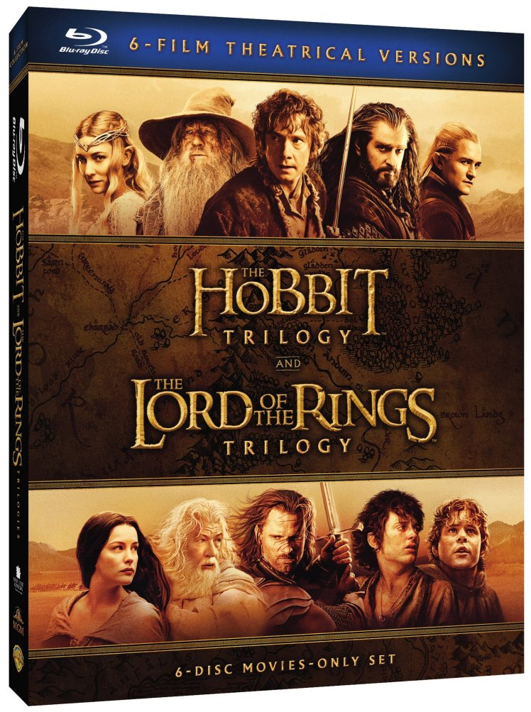 Middle Earth Theatrical Collection 3D