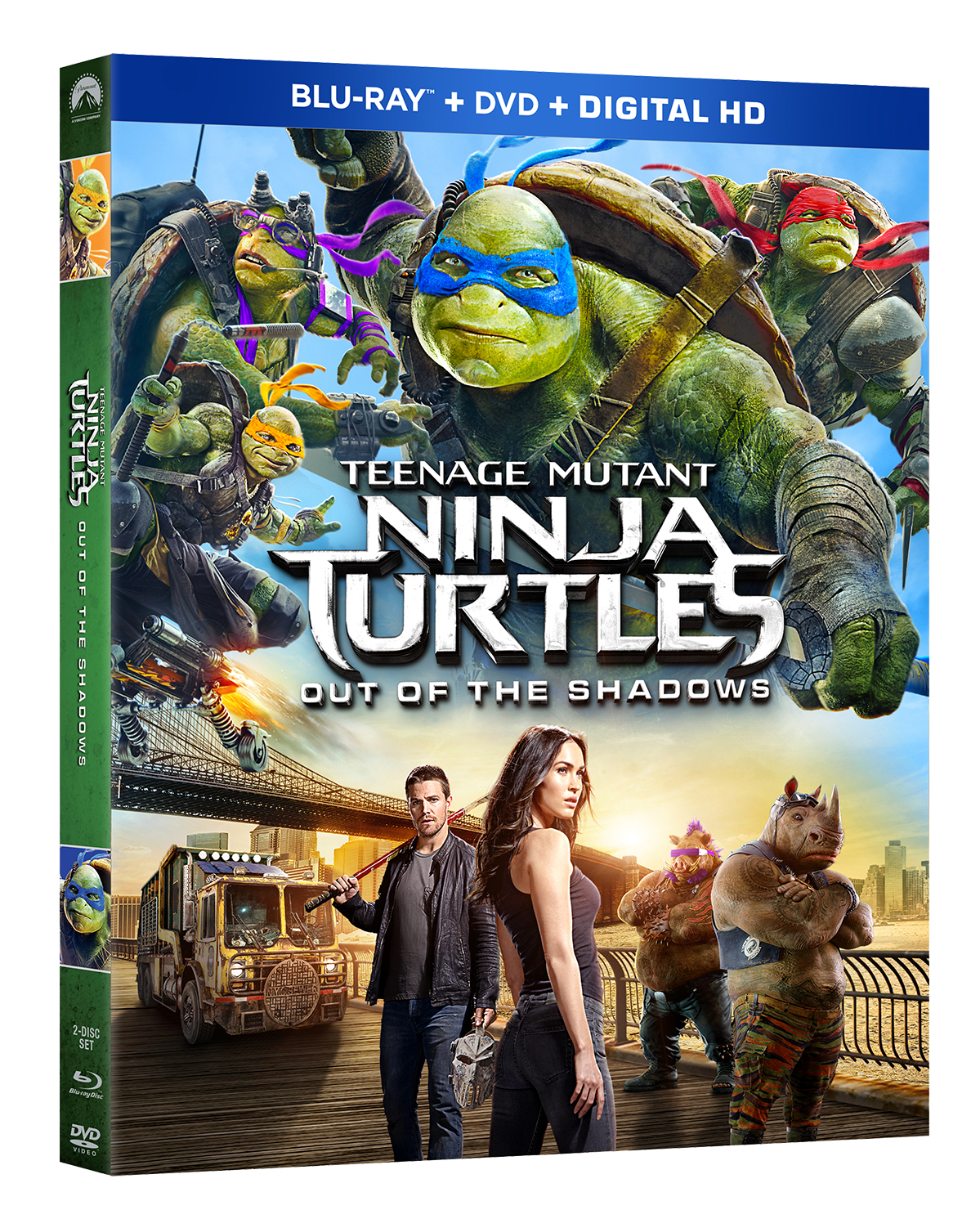 Teenage Mutant Ninja Turtles Out Of The Shadows Arrives On Blu Ray Sept 20th And Digital Hd Sept 6th Justlovemovies Com