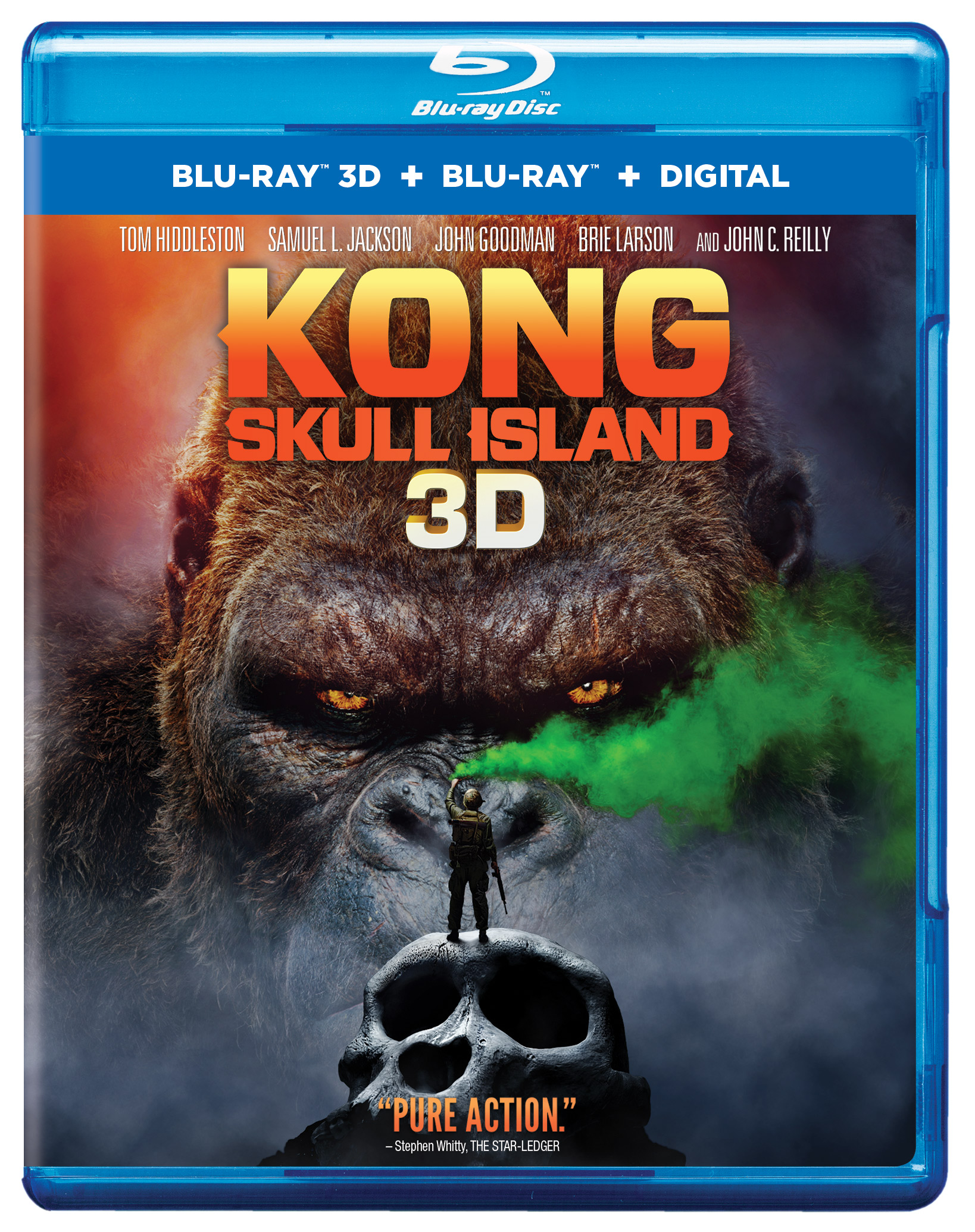 own kong skull island on ultra hd blu ray 3d blu ray blu ray and dvd on july 18 or own it. Black Bedroom Furniture Sets. Home Design Ideas