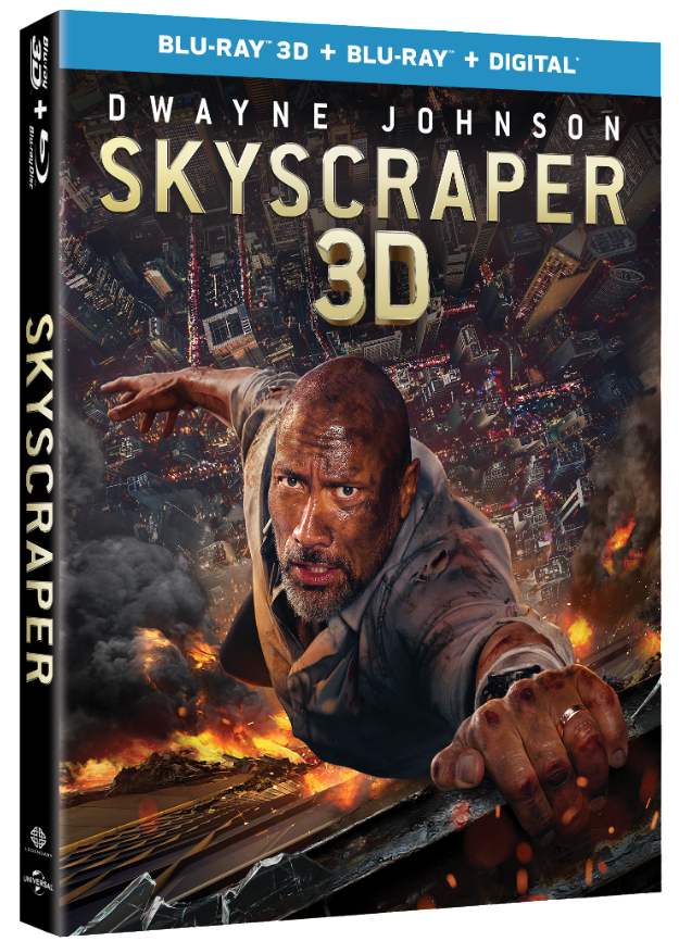 Dwayne 'The Rock' Johnson Stars in SKYSCRAPER Available on