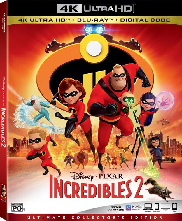 """Disney Info Sites: Announcement: Disney Pixar's """"Incredibles 2"""" Arrives"""