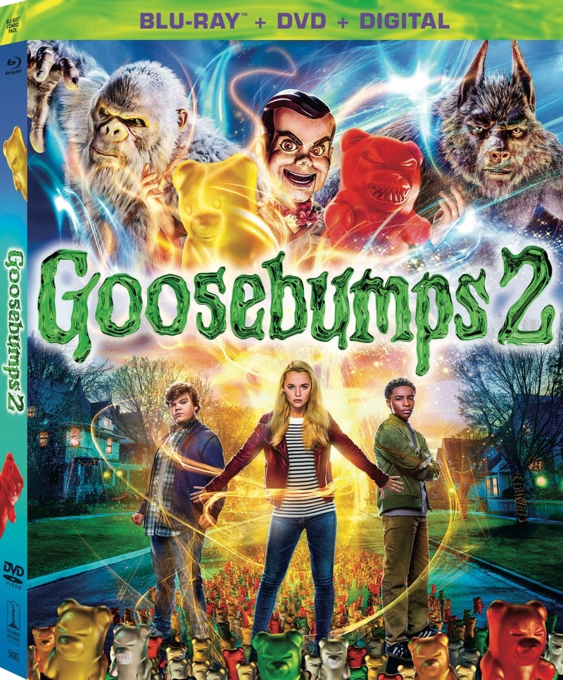 R L  Stine's Goosebumps 2 Comes to Digital 12/25 and Blu-ray & DVD 1