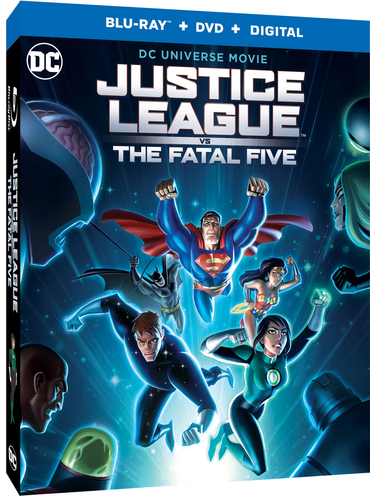 "Justice League vs  The Fatal Five"" arrives March 30 on"
