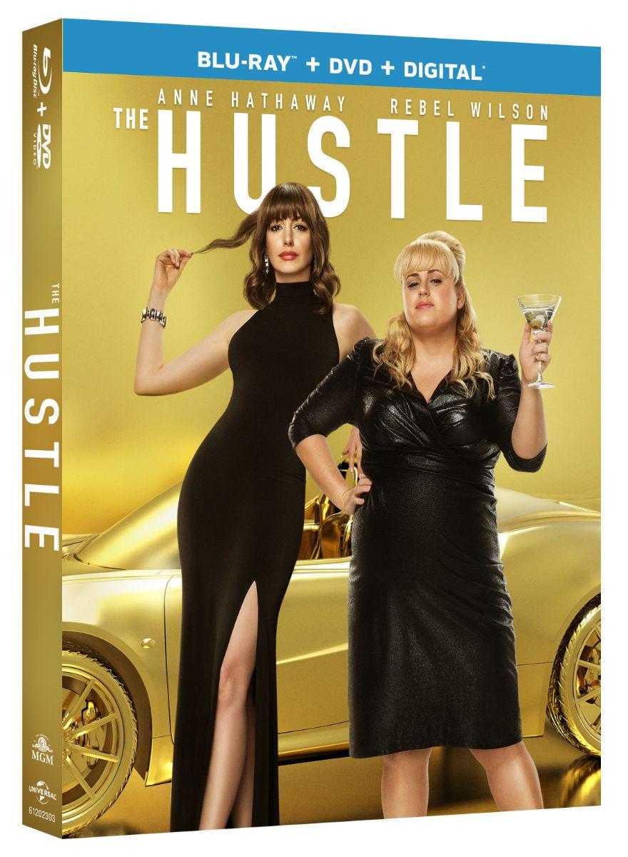 ผลการค้นหารูปภาพสำหรับ the hustle (2019) blu ray